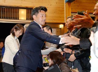 <有田町長選>松尾さんに期待の声「オール有田で取り組む」