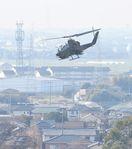 <神埼・陸自ヘリ墜落>自衛隊ヘリ、一部飛行再開