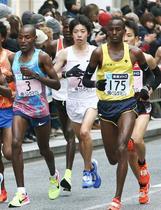 東京マラソン、設楽悠太が2位
