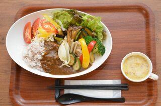 さが食べある記 ラ・サンテ249の「野菜カレー」