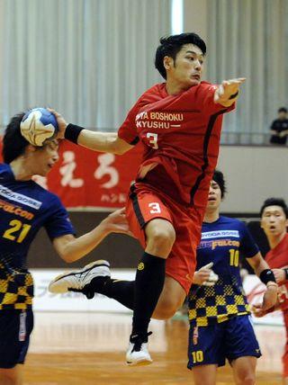 トヨタ紡織九州、完勝 ハンドボール全日本社会人選手権