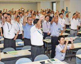 県の佐賀空港営業チーム 下半期目…