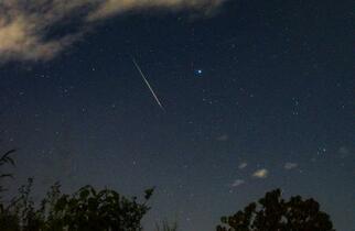ペルセウス座流星群が見頃