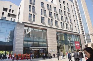 無印良品のホテル初開業、中国で