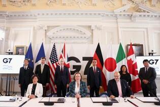 G7、強制労働の排除で一致