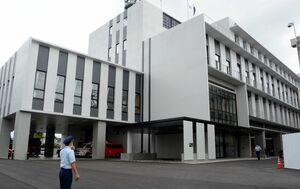 佐賀広域消防局、佐賀消防署の新庁舎=佐賀市兵庫北