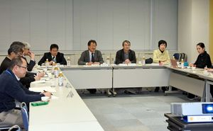 古代編の報告書作成について説明があった調査指導委員会=吉野ケ里歴史公園