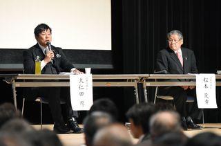 神埼の将来像で論戦 市長選討論会