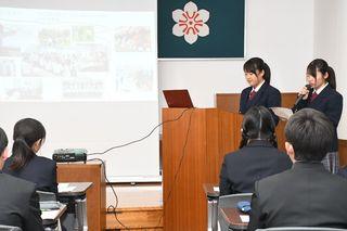 海外で自分の生き方見つめ直す 県高校生派遣事業で発表会