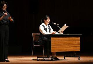<高校生記者>「耐え抜くことの大切さ学んだ」 清和高3年の井手綺音さん