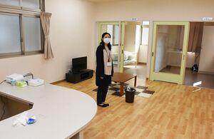 基山町病後児保育室の室内。保育士と保健師らが対応し、病後児を受け入れる=基山町役場横