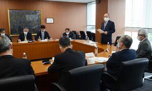 今後の水田農業の方針などを確認した県農業再生協議会=佐賀市の県JA会館