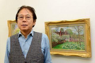 欧州情景、生命の輝き鮮烈 洋画家・高木英章さん個展