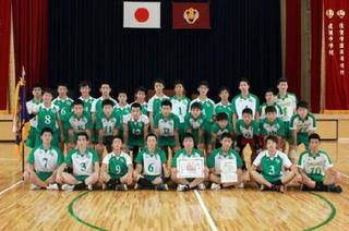 佐賀学園・男子バレーボール 「全員バレー」で挑む