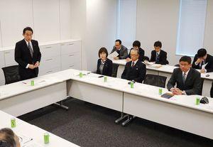 長崎ルートなどの建設費増加に対する財源確保を議論した与党PT=東京・永田町の衆院第2議員会館