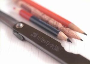 鉛筆削りから工作まで何でもこなす肥後守。子どもたちのマストアイテムだった(フィルムで撮影)