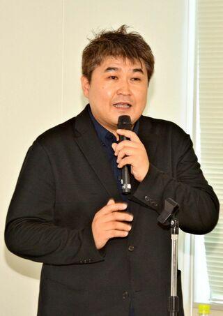 「自分に向かって書く」強調 コピーライターの田中泰延さん