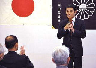 比例九州 今村氏、早々と 後輩案じバンザイなく