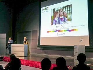 LGBTドラマの上映会