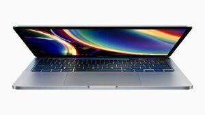 米アップルが発表したノートパソコン「マックブックプロ」の新型(同社提供・共同)