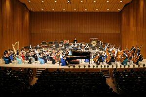 アルモニア管弦楽団が美しいハーモニーを響かせたニューイヤー・コンサート=佐賀市文化会館