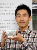 山本晋寛さんが手がけた子ども茶わん。四季折々の自然を取り込み、子どもの豊かな感性をはぐくむ