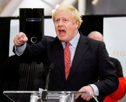 英総選挙、与党が単独過半数