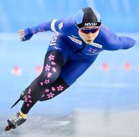 女子1000メートルで優勝した高木美帆=エムウエーブ(代表撮影)