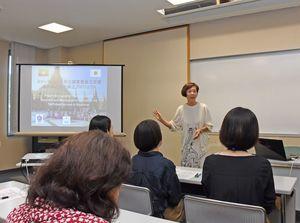 ミャンマーの人身取引の現状と日本の課題 JICA専門家の甲木さん講演