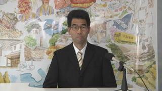 【動画】飯盛氏、知事選出馬インタビュー