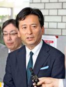 <オスプレイ受諾説明>山口知事と佐賀県有明海漁協の徳永組…