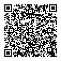 鏡校区の観光マップを見ることができるQRコード
