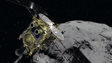 はやぶさ2が小惑星に27日到着
