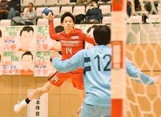 ハンドボール・トヨタ紡織九州8強 日体大に競り…