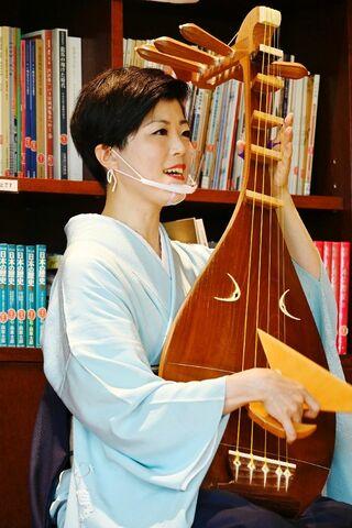 琵琶奏者・北原香菜子さんミニコンサート  23日、大隈重信記念館で