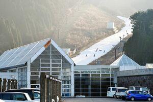 天山スキー場=佐賀市富士町(2020年1月撮影)