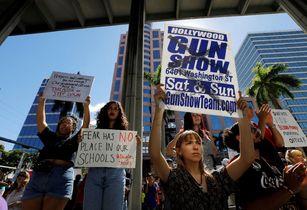 銃規制求め「恥を知れ」