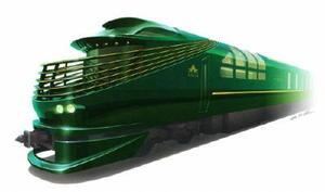 豪華寝台列車「トワイライトエクスプレス 瑞風」外装のイメージ(JR西日本提供)