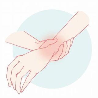 診察室から 女性の手と手首の痛み