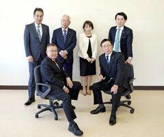 所属する会派「清風会」のメンバー6人。後列左端が岡部高広議員