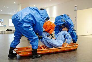 テロ対処、連携確認 佐賀空港で関係者ら70人
