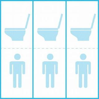 診察室から 学校の男子トイレ個室化 人との接し方変化を映す