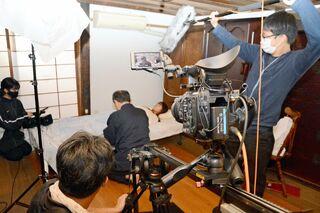 自主製作映画「マダラの女」3月6日上映会、佐賀市の松川屋