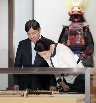 皇太子ご夫妻、彦根城に
