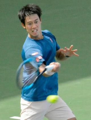 テニス、錦織はペールと1回戦