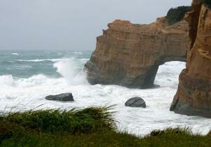 台風17号、暴風伴い九州北部へ
