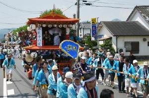 【本能寺】上町の曳山の人形は「本能寺の変」をテーマにしている