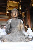 運慶作の釈迦如来坐像など2体、104年ぶりに修復 吉野ヶ…
