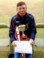 サンゴルフGG12月例会 個人優勝の前田俊明さん