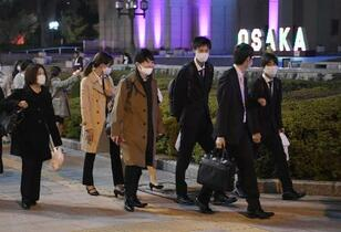 大阪非常事態「赤信号」初点灯へ